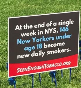 Burnt Hills-Ballston Lake Sr HS students highlight 146 reasons to end tobacco marketing to kids