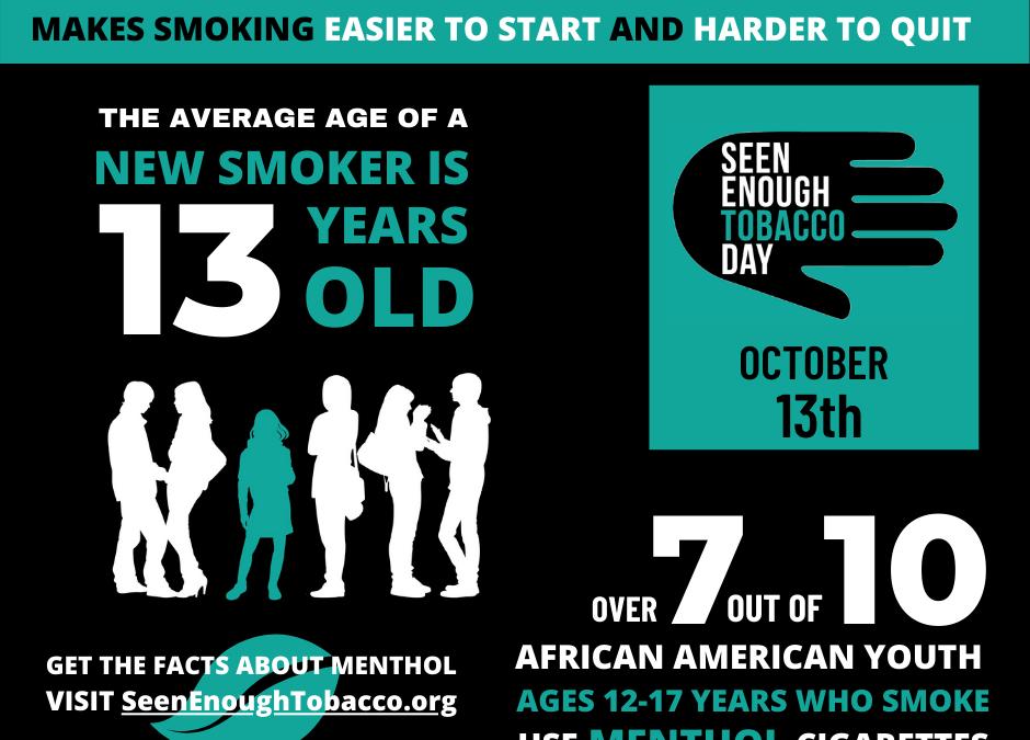 Seen Enough Tobacco Day 2020